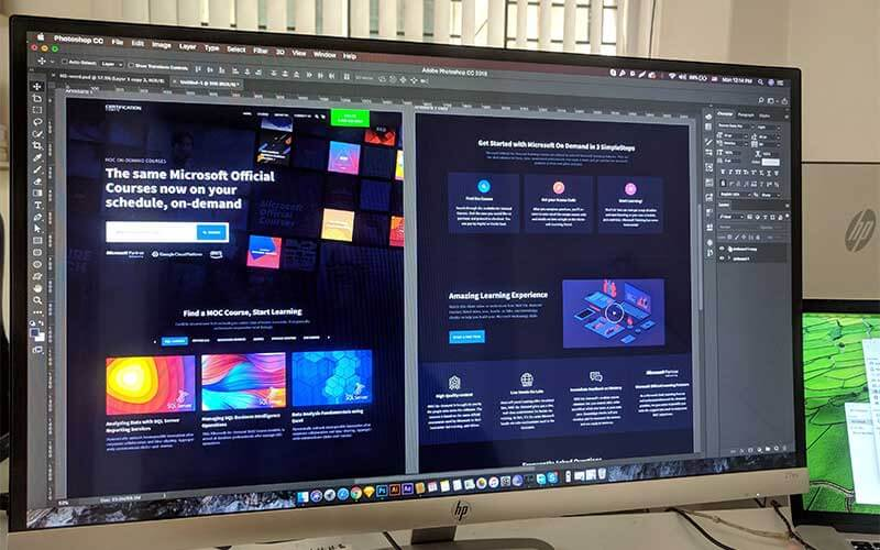 crear un diseño web