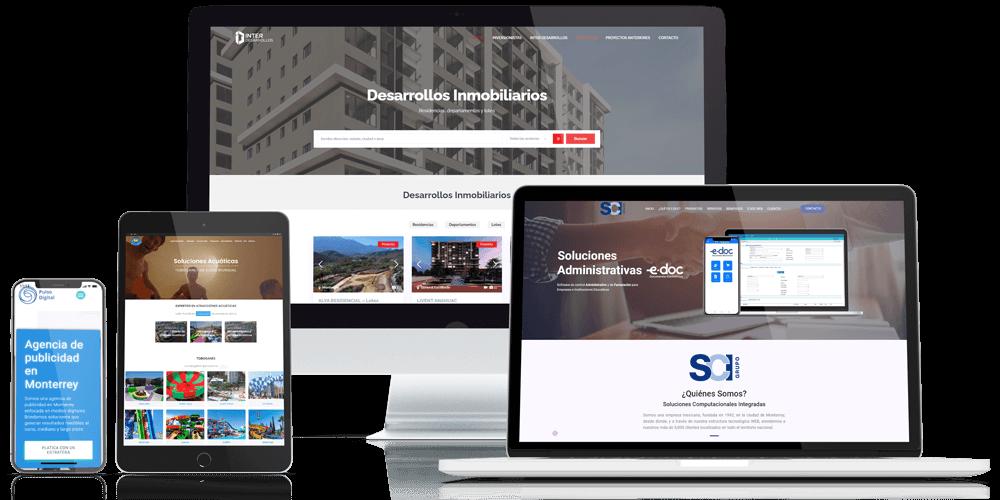 Creatividad en desarrollos y diseños de páginas web